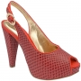 Peep Toe Plataforma Salto 11 BM