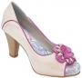 Peep Toe Plataforma Salto 8 LC